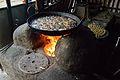 Frying Samosas - Taki - North 24 Parganas 2015-01-13 4819.JPG