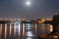 Full moon, with Mars next to it. Tigris River, Baghdad.png