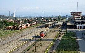 Fushë Kosovë railway station.jpg