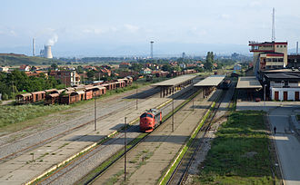 Kosovo Polje - Railway station, March 2010