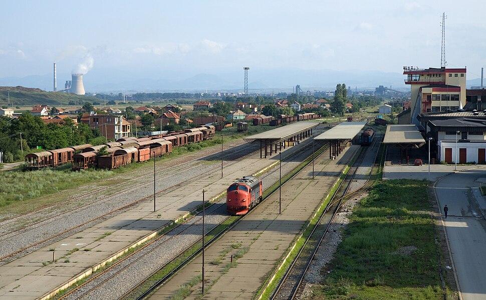 Fushë Kosovë railway station