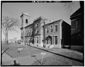 GENERAL VIEW OF WEST SIDE - Old Jefferson County Courthouse, Arsenal and Sherman Streets, Watertown, Jefferson County, NY HABS NY,23-WATO,2-3.tif