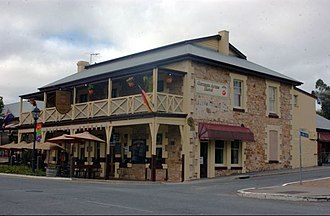 Hahndorf, South Australia - Image: GERMAN ARMS HOTEL HAHNDORF