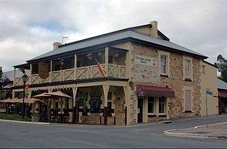 Hahndorf, South Australia - Image: GERMAN ARMS HOTEL HAHNDORF