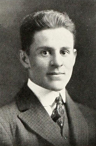 G. M. Billings - Billings pictured in The Howler 1917, Wake Forest yearbook