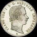 GOW 1per4 gulden 1857 A obverse.jpg