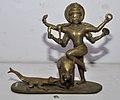 Gajendra Moksha Scene - Bronze - Circa 19th Century CE - ACCN 15-523 - Government Museum - Mathura 2013-02-24 6609.JPG