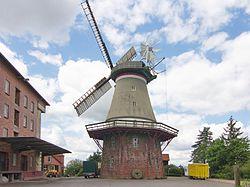 Galerieholländerwindmühle von 1857 in Dörverden IMG 9269.jpg