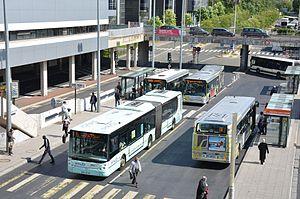 Cergy-Préfecture Station - Bus interchange