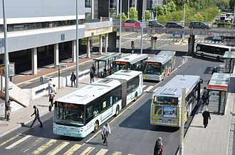 Cergy–Préfecture station - Bus interchange