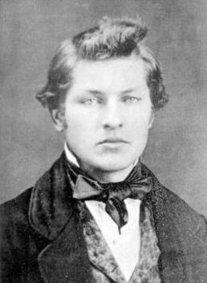 James A. Garfield - Garfield at age 16