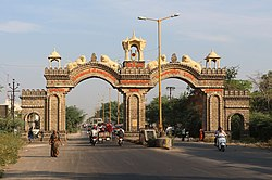 Gate of the city of Junagadh