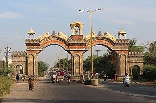 Junagadh City in Gujarat, India
