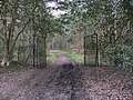 Gates on footpath between Thursley Road and Elstead Manor - geograph.org.uk - 1802426.jpg
