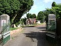 Gates to Dawlish Cemetery off Oak Hill - geograph.org.uk - 1359632.jpg