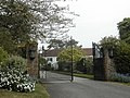 Gates to Manor House, Whitsbury - geograph.org.uk - 410750.jpg