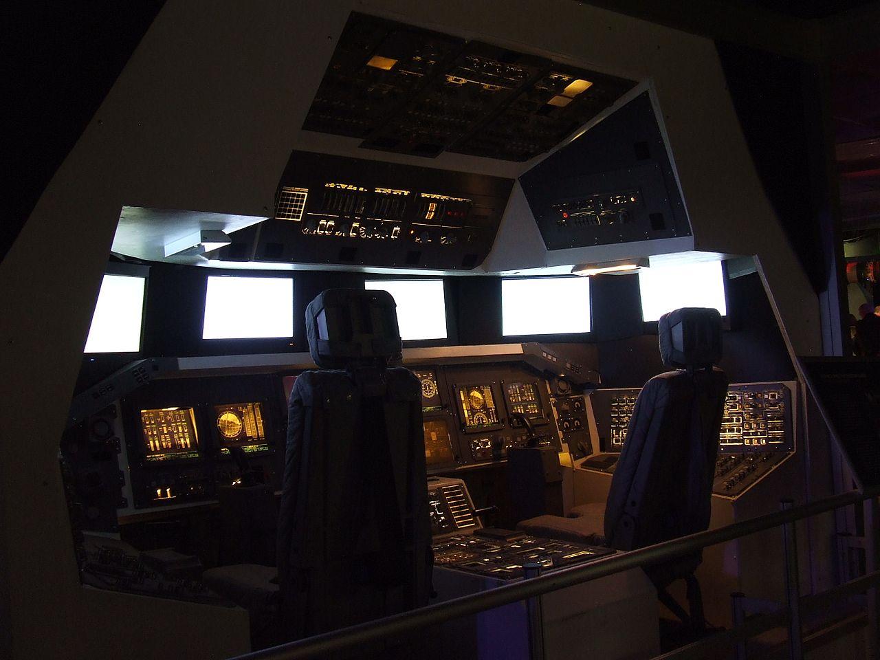 space shuttle original cockpit - photo #21