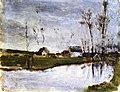 Gauguin 1874 Maisons au bord de l'eau.jpg