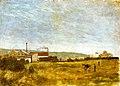 Gauguin 1877 Paysage de campagne avec usines.jpg