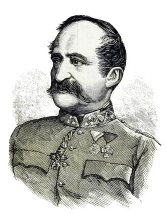 Karl Ludwig von Grünne - Karl Ludwig von Grünne in the 1873 Wiener Salonblatt