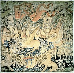 Tapestry of the Winged Deer