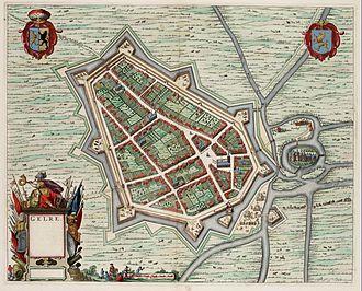 Geldern - Spanish-ruled Guelder in 1649