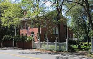 George Cowles (soldier) - The home in which General Cowles resided still stands today