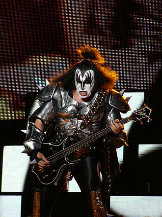 "Gene Simmons - Gene Simmons as ""The Demon"", 2010"
