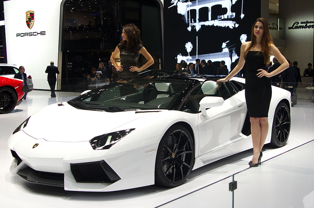 1024px geneva motorshow 2013   lamborghini aventador white
