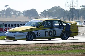 Commodore Cup - Five time champion Geoff Emery at Wakefield Park, 2011