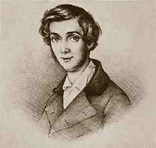 Fontane at age 23, drawing by Georg Friedrich Kersting (Source: Wikimedia)