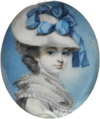 George Engleheart - Portrait of Unknown Woman - circa 1780 - Victoria & Albert Museum.png