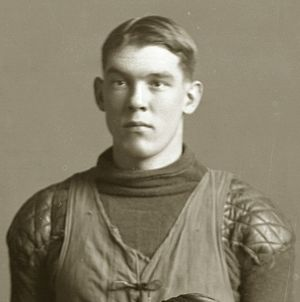 George M. Lawton - Lawton from 1910 Michigan football team portrait
