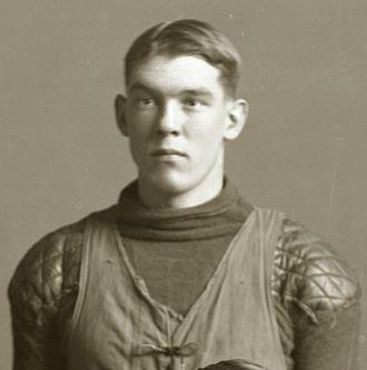 George M. Lawton - Lawton from 1910 Michigan football team portrait