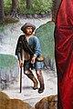 Gerard david, il canonico bernardino salviatio e tre santi, 1501, 02 mendicante.jpg