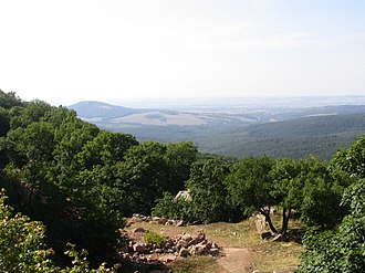 Gerecse Mountains - Image: Gerecse látképe