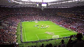 Germany - Italy game's ceremony - Euro 2012.jpg