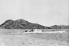 L'U.IT.24 (ex Cappellini) a Seto-Naikai (Giappone) nel 1944