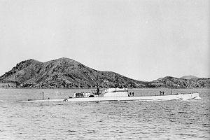 Italian submarine Comandante Cappellini - Image: Germany submarine UIT24 in 1944