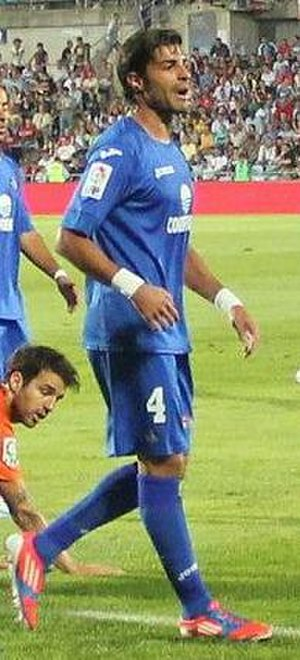 Miguel Torres Gómez - Torres in action for Getafe in 2012
