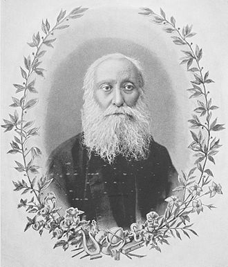 "Ghevont Alishan - Portrait of Alishan from his 1901 book Hayapatum (Հայապատում, ""Armenian History"")"