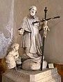 Giacomo antonio ponsorelli, san pio V in adorazione del crocifisso, 1721, 02.jpg