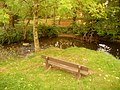 Gillingham, bench by a bend in the Stour - geograph.org.uk - 1541883.jpg