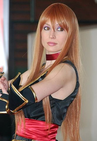 Dead or Alive (franchise) - A Kasumi cosplayer in 2014