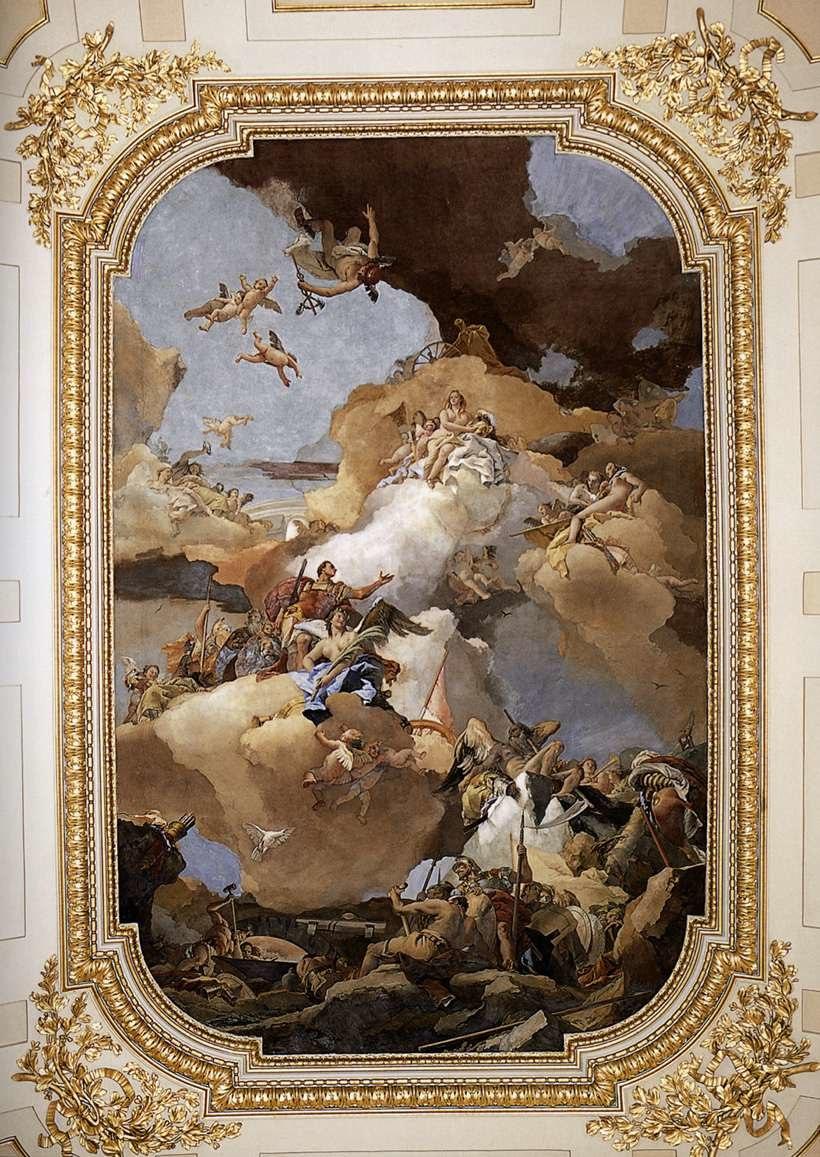 Giovanni Battista Tiepolo - Venus and Vulcan - WGA22370