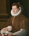 Girolamo Macchietti Bildnis einer Dame mit Schoßhund.jpg