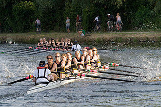 May Bumps 2006 - Girton College Boat Club racing in the May Bumps 2006.