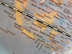 Globe showing Indonesia by Bennylin 05.jpg