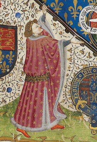 Humphrey, Duke of Gloucester - Gloucester in the frontispiece of the Talbot Shrewsbury Book, 1445