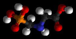 Le Roundup et le glyphosate 250px-Glyphosate-3D-balls